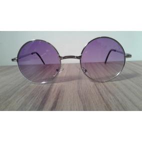 Oculos Redondo Lente Roxa De Sol - Óculos no Mercado Livre Brasil 98487c169a