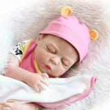 Reborn Baby De Silicona Plastica Muneco Juguete Rosa