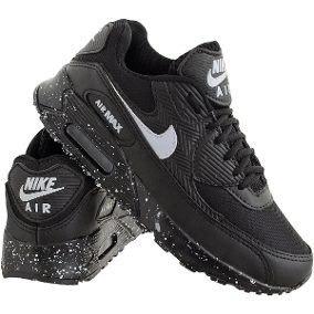 1d9090184bc Tenis Nike Air Max 90 Preto Lindo E Barato Garanta O Seu!