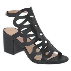 Zapatillas Negras Tacon Ancho Y Bajo Mujer Cklass - Zapatos en ... 3ff8baccdbbf