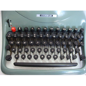 Máquina De Escrever Lexikon 80 (semi-nova)