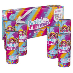 Party Pop Teenies Party Popteenie Poppers 6 X 5