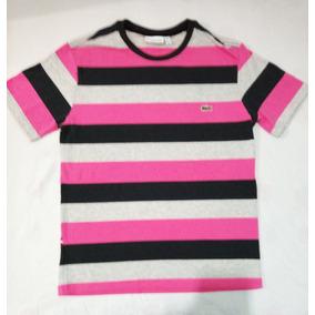 Camisa Lacoste - Camisas Rosa claro no Mercado Livre Brasil 78664eadb8