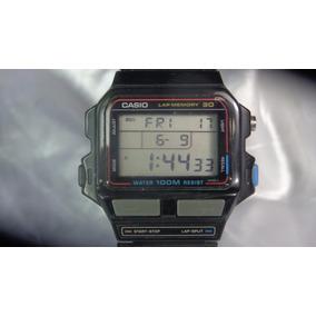 d8ad58d3074 Relógio Casio S D B 500 W 863 Teclas Cinzas Relogiodovovô. R  1.000