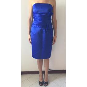 Vestidos color azul electrico cortos