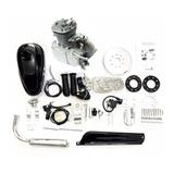 Kit Motor 80cc Bicicleta Completo Motorizada Cromado