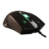 Mouse Gamer Noga St-350 2400dpi Gaming Retroiluminado Rgb