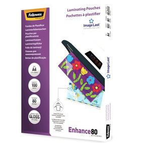 Pouch Plastificadora Fellowes A4 80 Micrones X 100 Unidades