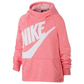 Hoodie Nike Nsw Aj6775-614 Rosa-blanco Niña Oi