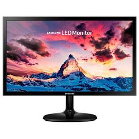 Tela Monitor Led 19 Samsung Hd Vga Pc Computador - Preto
