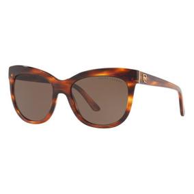2c8c0d7537c87 Oculos Sol Ralph Lauren Rl8158 500773 54 Marrom Havana