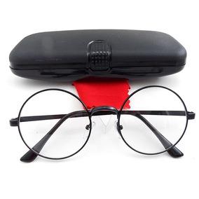 88f4cf210e93d Armação Metal Óculos Redondo Retrô John Lennon 5.2 Cm 4 Cor