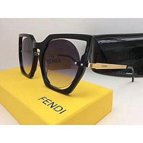 9603377732a1a Oculos De Sol Modelo Gatinho Feminino Fendi - Óculos no Mercado ...