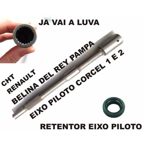 Eixo Piloto Corcel, Del Rey, Pampa 1.4 É 1.6 Cht Bd2m7015a