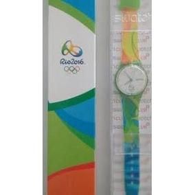 Relogio Swatch Original Olimpiadas Voluntario Colecionavel