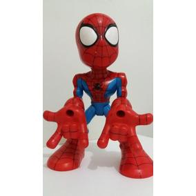 Spider Man Marvel Lança Teia Eletrônico
