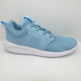 Tenis Dc Shoes Midway Sn Mx Adjs700059 Cld Cloud Azul Claro