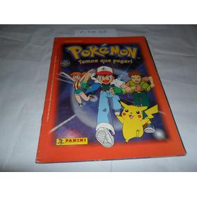 Álbum Pokémon (temos Que Pegar!) - Ano 1999 - Panini - A22