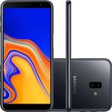 Smartphone Samsung Galaxy J6+ Tim - Preto