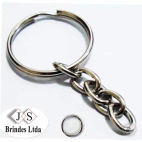 12a971ed857cb Argola Chaveiro Embalagem 100 Unidades - Chaveiros no Mercado Livre ...