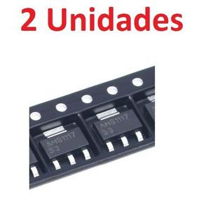 2 Unidades Ams1117 Regulador 3,3v