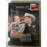 Dvd Fernando E Sorocaba- Bala De Prata Ao Vivo Raridade