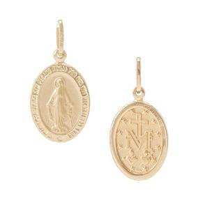 Medalha Ouro 18 Kl Nossa Senhora Das Gracas - Joias e Bijuterias no ... a42aa9036a