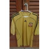 Camisa Oficial Da Espanha 2008 - Aceito Trocas.