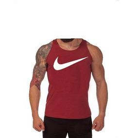 fabad4a81b3c9 Kit C 03pç Camiseta Regata Masculina Nike Algodão Fretegrtiz