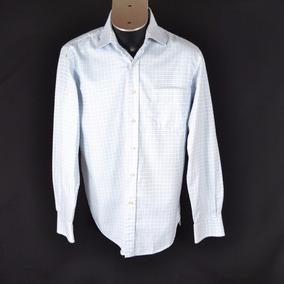 Claro Blanco Y 42 Dutti Massimo 840 Camisa Azul Msrp 6xqYUX7IwX