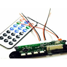 Placa Decodificador Usb P/ Caixa Ativa Mp3 Fm Bluetooth Sd