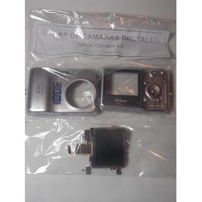 Cámara Digital Nikon L3 - Scrap Carcasas Y Tapa De Pilas