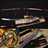 Espada Original Aço Carbono 1060 Samurai Katana Afiada