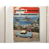 Quatro Rodas Nº31 Fevereiro 1963 Rio De Janeiro Raridade