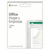 Office Hogar Y Empresas 2019 Codigo Digital