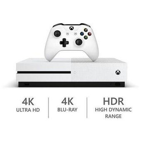 Xbox One S Slim 1 Tb + 2 Controles + Kinect + 3 Jogos