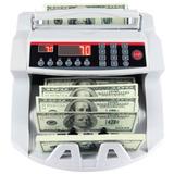 Contador De Dinheiro E Detector Notas Falsas Real Dolar Euro