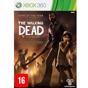 The Walking Dead Game The Year Edition Xbox 360 Mídia Física