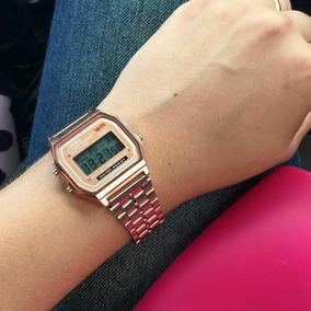 26287f980bd Relogio Casio Dourado Rose Vintage Elegante Barato Caixa - Relógios ...