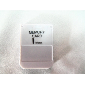 Um Memory Cards Ps1 Psone Psx Playstation [novo Lacrado]
