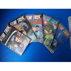 Revistas Lote Star Trek De 1 A 5 Série Clássica