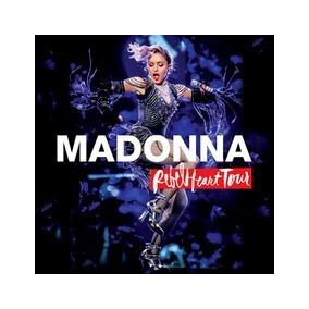 Combo Madonna Rebel Heart Tour Live 2 Cd + Dvd Nuevo Oferta