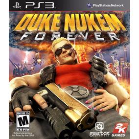 Jogo Duke Nukem Forever Playstation 3 Ps3 Mídia Física Game