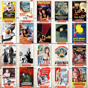 Pôster Decorativo Memorabilia Filme Antigo 60x40
