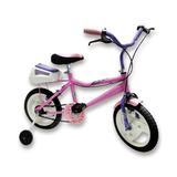 Bicicleta Rod. 14 Super Full - Rueditas + Baulera + Canasto!