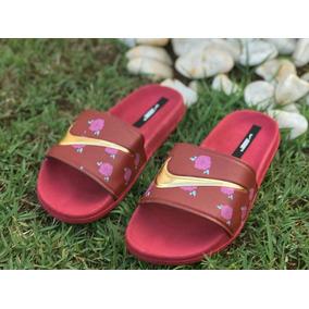 28bae2fde32 Chinelo Nike Vermelho Feminino Chinelos - Calçados