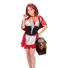 Caperucita Blusa,corset,capa,máscara,cuchillo Envio Gratis