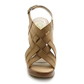 Zapatos Plataforma Wedge Beige Ollio