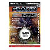 Airsoft Esferas Bbs 0,30g 6mm 3500un Velozter Nautika
