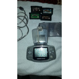 Game Boy Advance + 4 Juegos + Accesorios